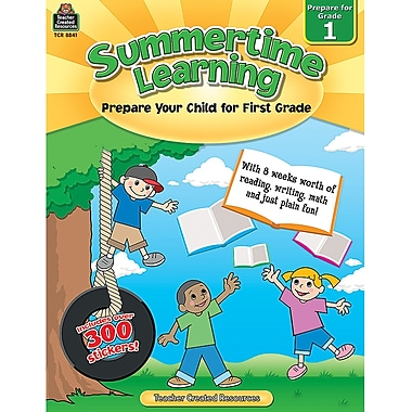 Teacher Created Resources Summertime Learning Book, Grade 1 (TCR8841)