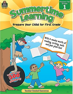 Teacher Created Resources® Summertime Learning Book, Grades 1st