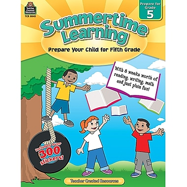 Teacher Created Resources Summertime Learning Book, Grade 5 (TCR8845)