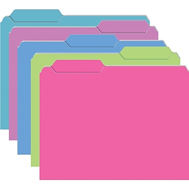 Top Notch Teacher Products Brite Galactic Assorted File Folder, 10/Pack (TOP3316)