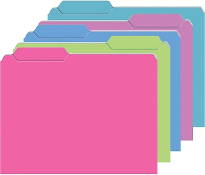 Top Notch Teacher Products® Galactic Assorted Mini Folder, 25/Pack