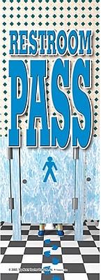 Top Notch Teacher Products® Boys Restroom Hall Pass