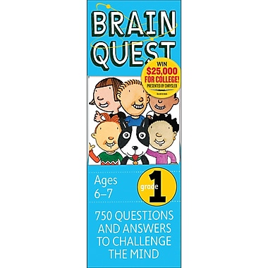 Workman Publishing Brain Quest Book, Grades 1st