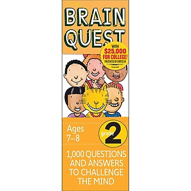 Workman Publishing – Livre Brain Quest, 2e année (WP-16652)