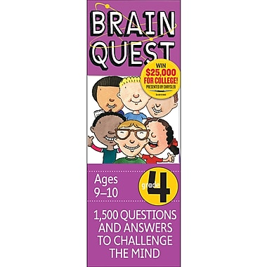 Workman Publishing Brain Quest Book, Grades 4th