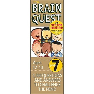 Workman Publishing Wp-16657 Brain Quest Book, Grade 7 (WP-16657)