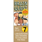 Workman Publishing WP-16657 Brain Quest Book, Grade 7