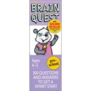 Workman Publishing Brain Quest Book, Grades Pre School
