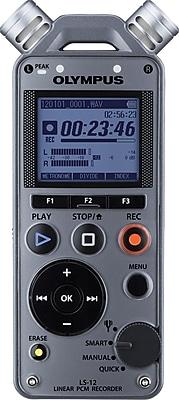 Olympus® LS-12 Linear PCM Digital Voice Recorder