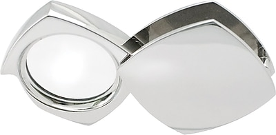 Natico 4x Magnifier With Folding Silver Case, 2