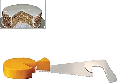 Natico Stainless Steel Saw Shaped Cheese/Cake Server