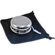 Natico Polished Silver Yo-Yo With Pouch