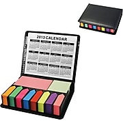Natico Memo Holder With Eight Flags and Calendar