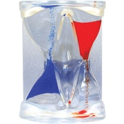 Natico inverse Flow Liquid Timer, Blue and Red