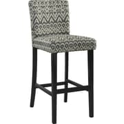 Linon Morocco Driftwood Counter Stool, Black