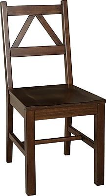 Linon Titian Side Chair, Brown (86157ATOB-01KDU)