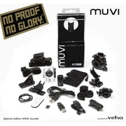 "Veho MUVI Atom Super Micro DV Camcorder, includes ""No Proof no Glory"" Special Edition"