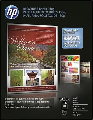HP Color Laser Brochure Paper 150g 8 1/2