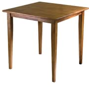 "Winsome Groveland 29.13"" x 29.53"" x 29.53"" Wood Square Shaker Leg Dining Table, Light Oak"
