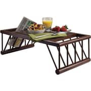 """Winsome Cambridge 25.98"""" Lap and Bed Desk, Brown (40117)"""