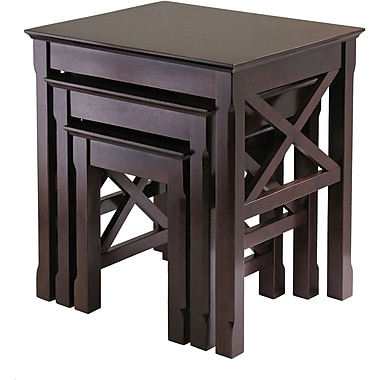 Winsome Trading Wood End Table, Cappuccino, Each (40333WTI)
