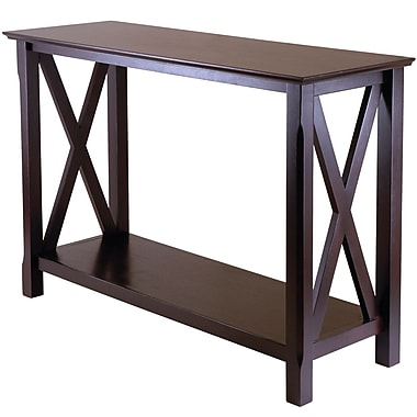 Winsome Trading Wood Console Table, Cappuccino, Each (40445WTI)