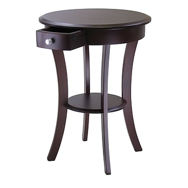 Winsome Trading Wood Accent Table, Cappuccino, Each (40627WTI)