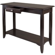"Winsome Nolan 30"" x 40"" x 15.98"" Composite Wood Console Table With Drawer, Cappuccino"