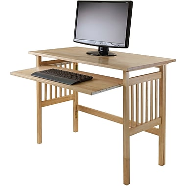 Winsome Folding Computer Desk, Natural (81140)
