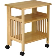 """Winsome 27.2"""" x 24"""" x 16.2"""" Wood Printer/Media Stand, Natural"""