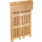 Winsome Mission Beech Wood 4-Tier Shelf, Natural