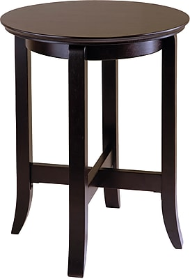 "Winsome Toby 21.97"" x 18.03"" x 18.03"" Composite Wood End Table, Espresso"