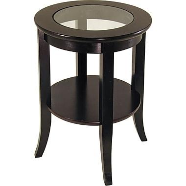 Winsome Trading Genoa Wood End Table, Espresso, Each (92218WTI)