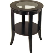 Winsome Trading Genoa Wood End Table, Espresso, Each (92218WTI)