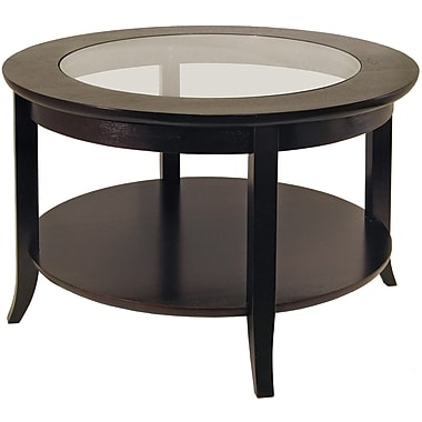 Winsome Trading Genoa Wood Coffee Table, Espresso, Each (92219WTI)