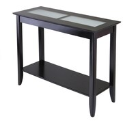 Winsome Trading Syrah Wood Console Table, Espresso, Each (92240WTI)