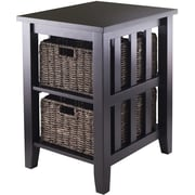 Winsome Trading Morris Wood Side Table, Espresso, Each (92312WTI)