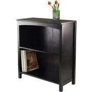 "Winsome Terrace Solid/Composite Wood 3-Tier 26"" Wide Storage Shelf, Espresso"