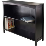 "Winsome Terrace Solid/Composite Wood 3-Tier 37"" Wide Storage Shelf, Espresso"