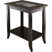 Winsome Trading Genoa Wood End Table, Brown, Each (92419WTI)