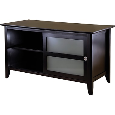 Winsome Syrah Wood TV Stand, Dark Espresso