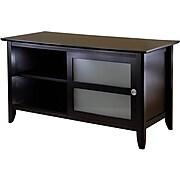 Winsome Syrah Wood TV Stand, Dark Espresso