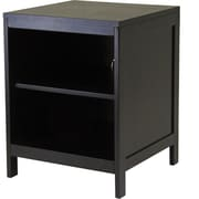 Winsome Hailey Wood Small Modular TV Stand, Dark Espresso