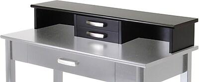 Winsome Liso Hutch for Desk, Dark Espresso (92742)