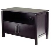 Winsome Linea Wood TV Stand, Dark Espresso