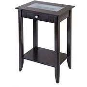 Winsome Trading Syrah Wood Console Table, Espresso, Each (92822WTI)