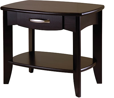 Winsome Trading Danica Wood End Table, Espresso, Each (92824WTI)