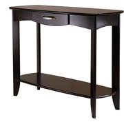 Winsome Trading Danica Wood Console Table, Espresso, Each (92840WTI)