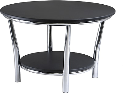 Winsome Trading Metal Coffee Table, Black, Each (93230WTI)