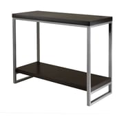 Winsome Trading Jared Metal Console Table, Espresso, Each (93441WTI)